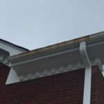 House Gutter before power wash
